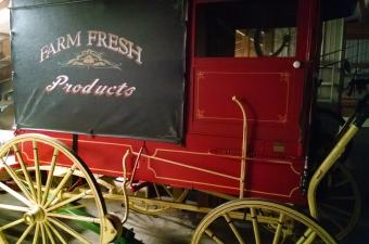 Farm Fresh Produce Wagon