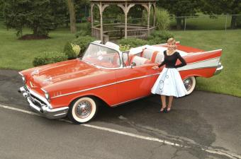 Joan Campbell & Her 57 Chevy