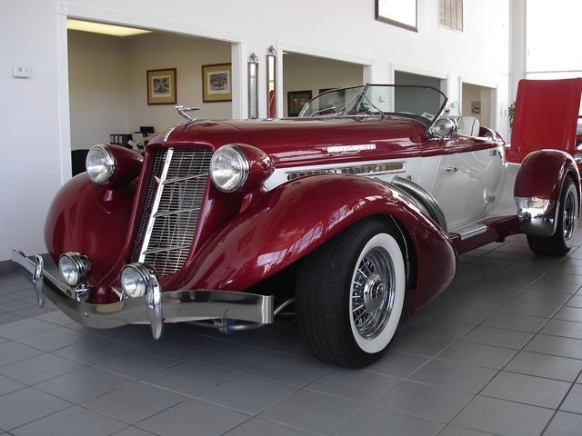 Custom 1936 Auburn Boat Tail Speedster